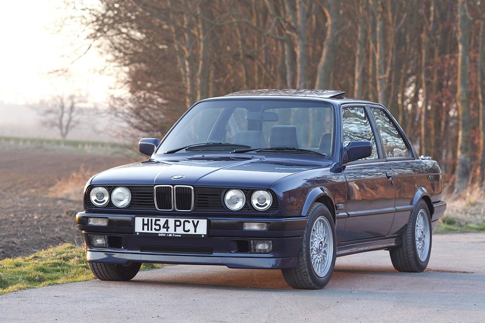 My previous BMW E30 318is in gorgeous Laser Blue paintwork.