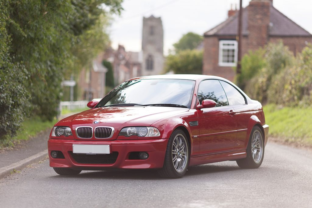 Imola Red BMW E46 M3 Coupe
