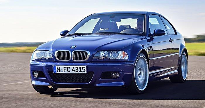 E46 M3 CS in stunning Interlagos Blue paint colour.