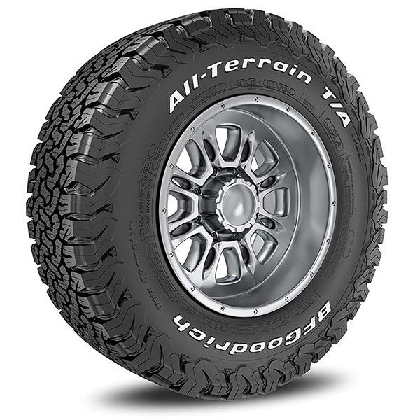 BFGoodrich All Terrain KO2 Tyres.