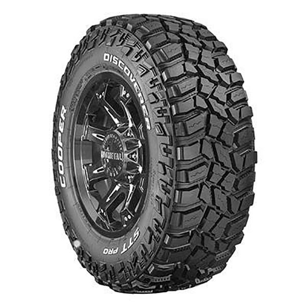 Cooper Discoverer STT PRO Mud terrain tyres.