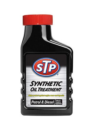STP sytnhetic oil treatment for petrol and diesel engines.