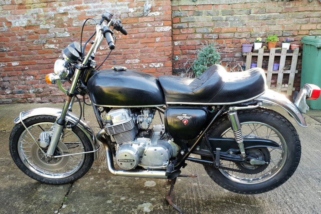 Honda CB750 Restoration Project