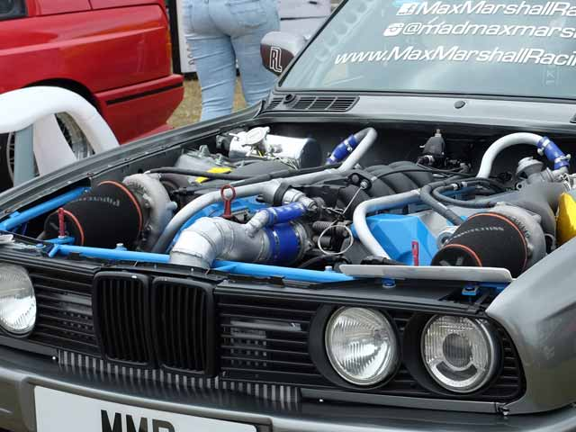 LS Swapped E30