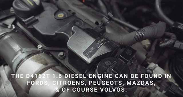 Volvo, Ford, Citroen, Peugeot and Mazda 1.6 Diesel D4162T Engine