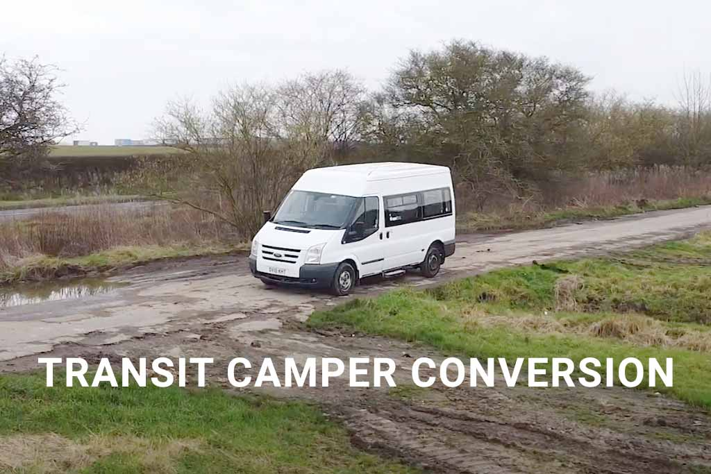 Transit camper conversion DIY